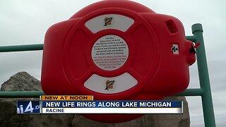 New Life Rings Along Lake Michigan in Racine