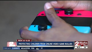Protecting children from online video game bullies