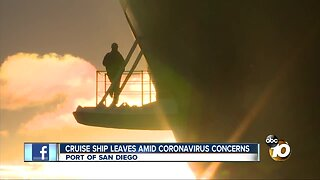 Coronavirus cruise concerns