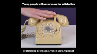 Slamming a rotary phone [GMG Originals]