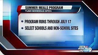 TUSD summer meals program