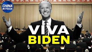 21.01.21 CF: Il regime comunista cinese festeggia l'arrivo di Biden