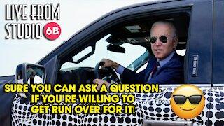 Unbelievable!! Biden Threatens to Run Over Reporter!!!