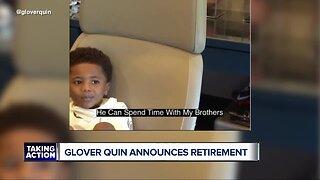 Glover Quin announces retirement
