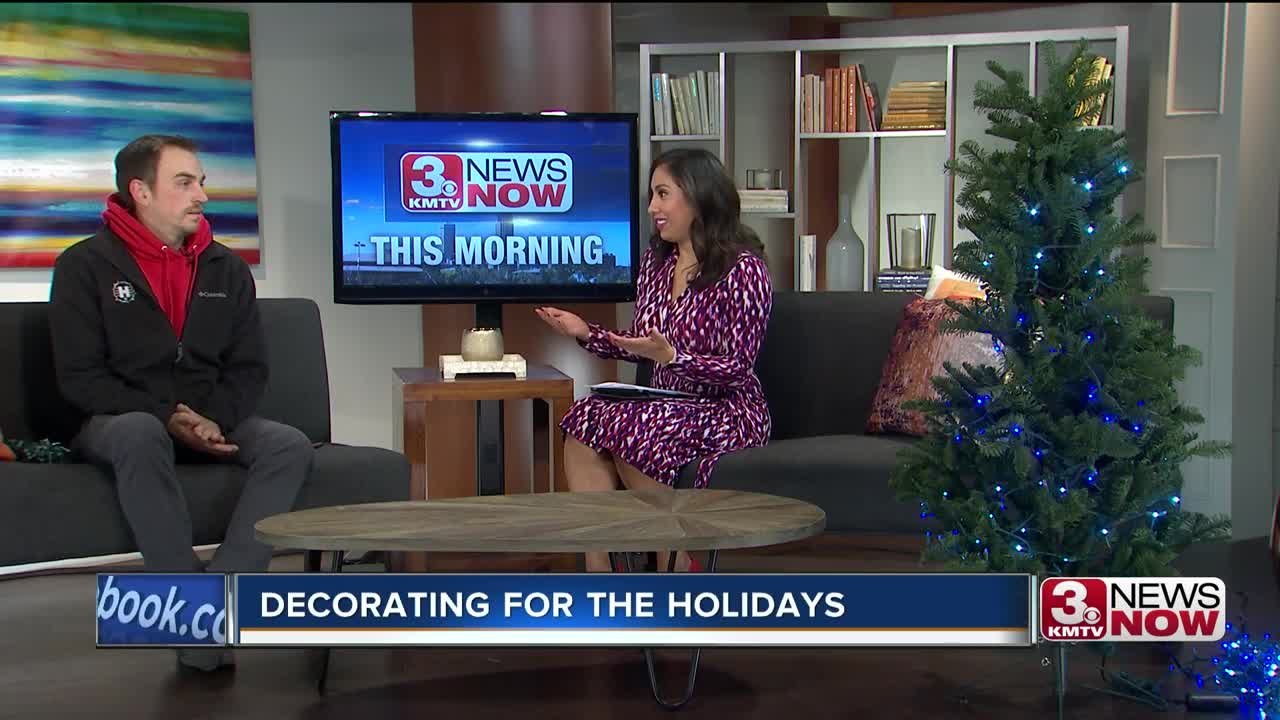 live interview - decorating for the holidays