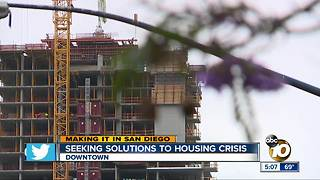 Seeking solutions to housing crisis