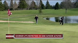 Governor lifts restrictions on some outdoor activities