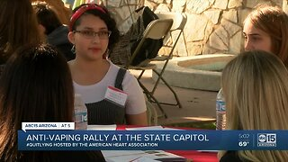 Anti-vaping rally at the state capitol