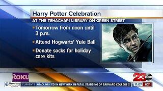 Harry Potter celebration at the Tehachapi Library
