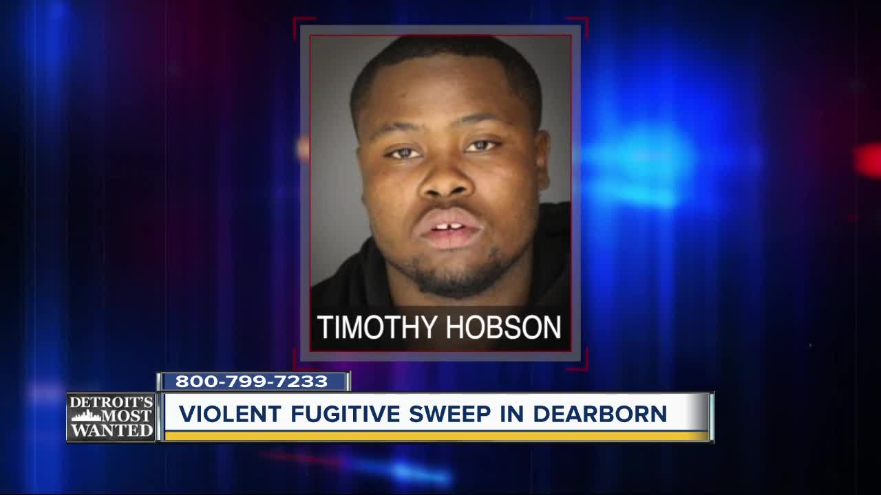 Detroit's Most Wanted: Violent fugitive sweep in Dearborn