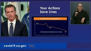 Gov. Newsom provides update on COVID-19 and heat wave