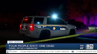 1 dead, 3 hurt after shooting near 91st Avenue and Camelback Road
