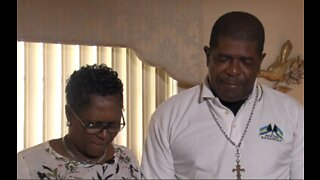 Bahamian couple returns to Freeport