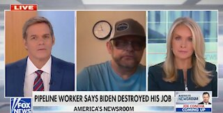 Laid Off Pipeline Worker Has Heartbreaking Message For Joe Biden