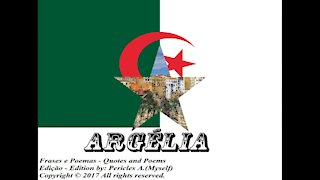 Bandeiras e fotos dos países do mundo: Argélia [Frases e Poemas]