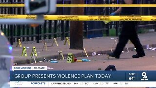 Group to present plan to curb violence today