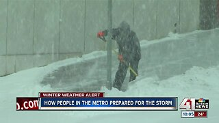 Streets get slick as winter storm hits Kansas City