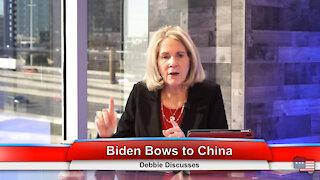 Biden Bows to China   Debbie Discusses 1.26.21