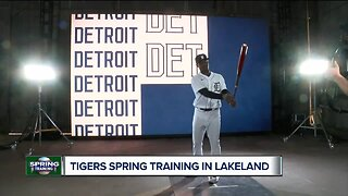 Behind the scenes at Tigers' Spring Training