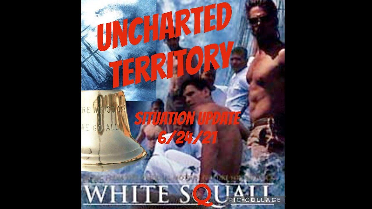 Situation Update: Unchartered Territory! White Squall - Gen. Michael Flynn & Ann Vandersteel - Must Video