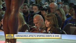 Coronavirus affecting March Madness