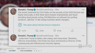 President Trump fires DOHS official