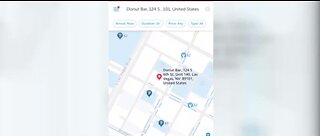 Demo: SpotAngels app to find parking in downtown Las Vegas