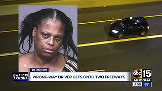 Wrong-way driver arrested for DUI