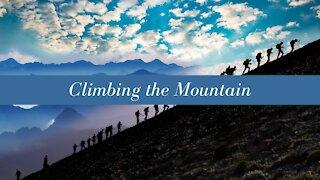 Climbing the Mountain - Pastor Julie Fessenden