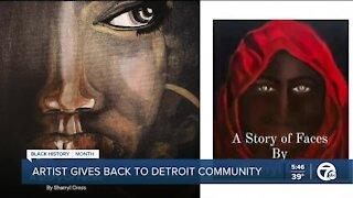 Artist gives back to Detroit community