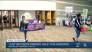 Second-hand annual sale 'Just Between Friends' is back