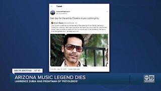 Arizona music legend, Lawrence Zubia of the Pistoleros dies