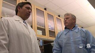 Coronavirus cases in Florida