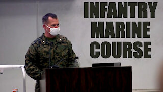 first week of the Infantry Marine Course