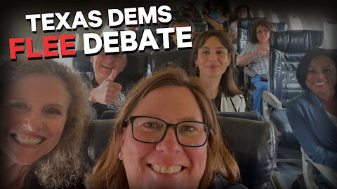 Texas Democrats Run Home to Mommy!