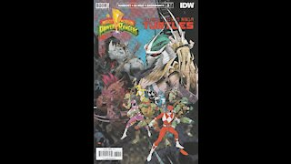 Mighty Morphin' Power Rangers / TMNT -- Issue 3 (2019, Boom! / IDW) Review