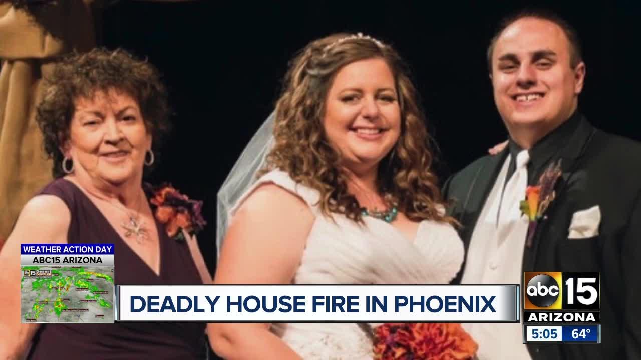 Elderly woman killed in Phoenix house fire