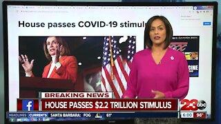 House Passes 2.2 trillion relief bill