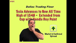 🚘TESLA makes All Time High - Dallas Trading Floor #181