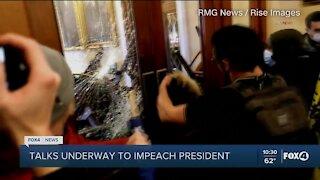 Talks underway to impeach Trump