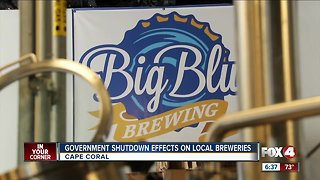 Government Shutdown Effects on Local Breweries