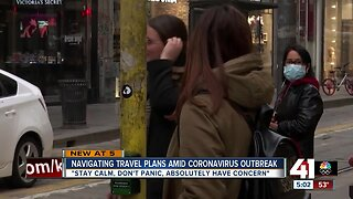 Navigating travel plans amid coronavirus outbreak