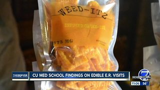 New study finds more people are going to ER after consuming edibles
