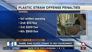 Sanibel bans plastic straws