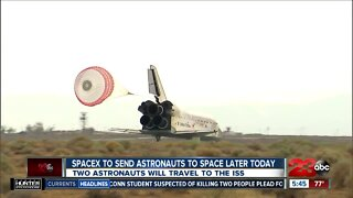 NASA Armstrong Flight Research Center eagerly watching first Space X manned space flight