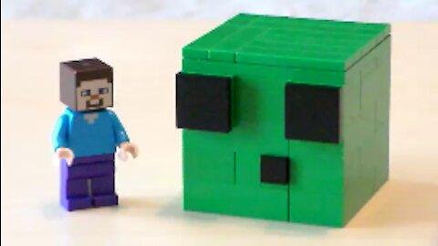 Lego Minecraft Slime Tutorial