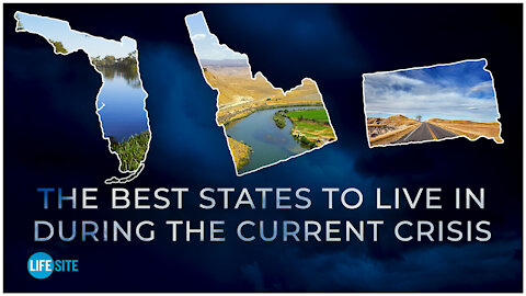These are the best and worst American states to live in during the current crisis