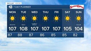 13 First Alert Las Vegas evening forecast | August 23, 2020