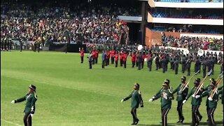 SOUTH AFRICA - Pretoria - Presidential Inauguration - SANDF marching onto field (video) (S4E)