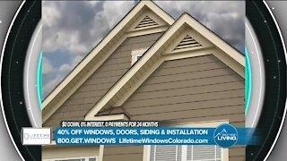Lifetime Windows // Improve Your Home!